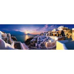 Sončni zahod na Santoriniju...