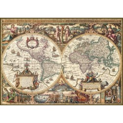 Starodavni zemljevid sveta...