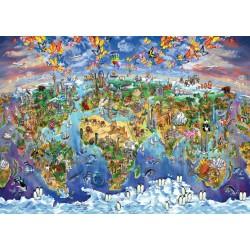 Zemljevid svetovnih čudes...