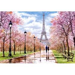 Romantični sprehod v Parizu...