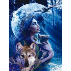 Boginja volkov (1000 kosov)...
