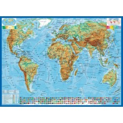 Politični zemljevid sveta -...
