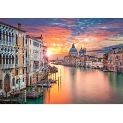 Sončni zahod v Benetkah...