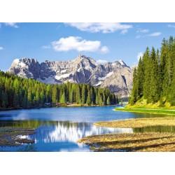 Dolomiti, jezero Misurina...