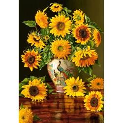 Sončnice v vazi (1000...