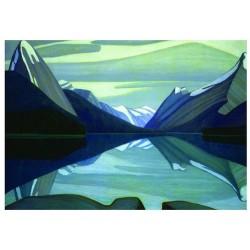 Harris: Jezero Maligne...