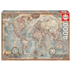 Zemljevid sveta (4000...