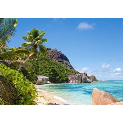 Tropska plaža, Sejšeli...