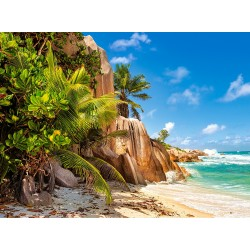 Sanjska plaža na Sejšelih...