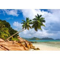Skrivna plaža na Sejšelih...